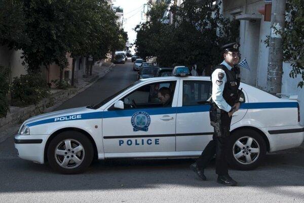 Grécka polícia. Ilustračné foto