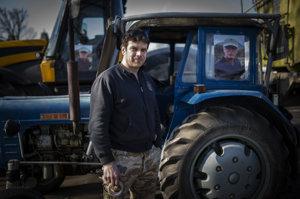 Farmár z Mlynčekov Ján Vojtašák.
