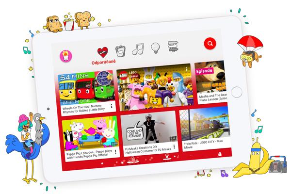 Aplikáciu YouTube Kids si môžete stiahnuť aj na Slovensku.