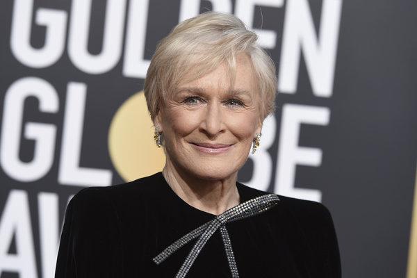 Glenn Close na Golden Globes 2019