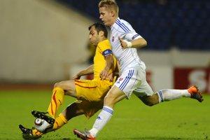 Tomáš Hubočan odohral v reprezentácii 64 zápasov bez streleného gólu. Zúčastnil sa ME 2016.  Momentka z roku 2010.