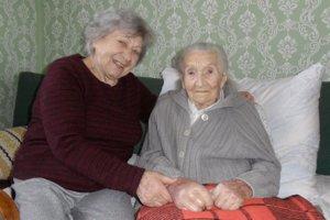 Anna Vozárová z Pukanca oslávila 18. februára 101. narodeniny.