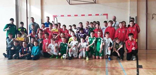 Účastníci turnaja vkategórii U11.