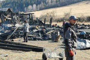 Polnočný požiar v osade bol likvidačný.