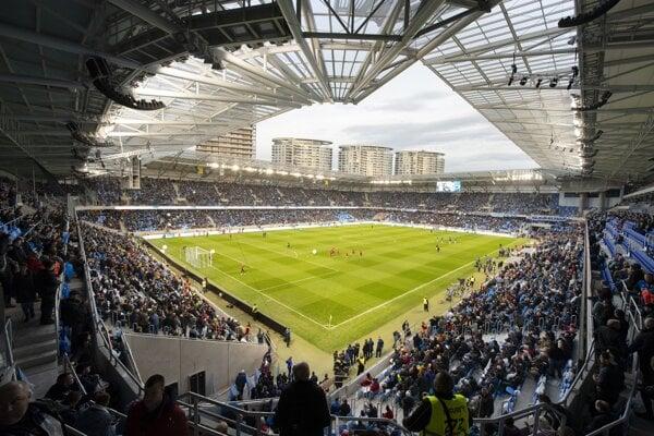 Národný futbalový štadión - ilustračná fotografia.