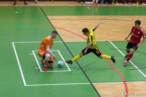Makroteam v úvodnom zápase štvrťfinále svojmu súperovi prakticky nič nedovolil.