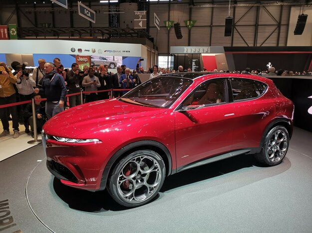 Alfa Romeo Tonale - koncept