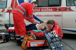 Vlani vo februári zrušili v Kysuckom Novom Meste rýchlu lekársku pomoc.