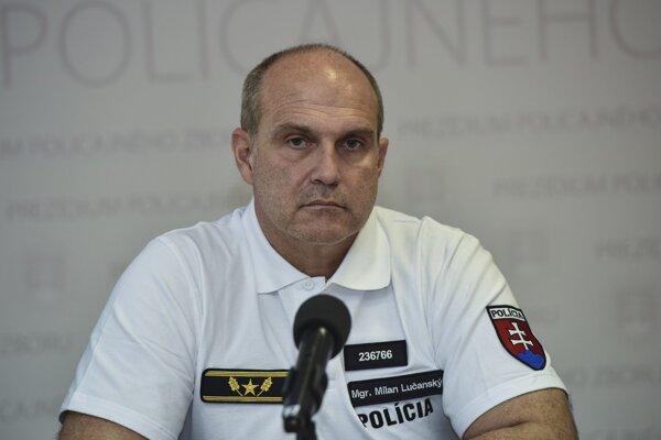 Súčasný prezident Policajného zboru Milan Lučanský.
