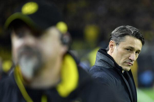 Tréner Bayernu Mníchov Niko Kovač (vpravo) - ilustračná fotografia.