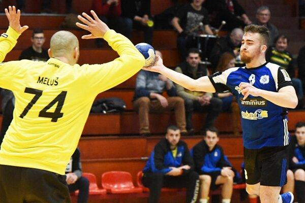 Šimon Michniewicz strelil v nedeľu osem gólov do piešťanskej siete.