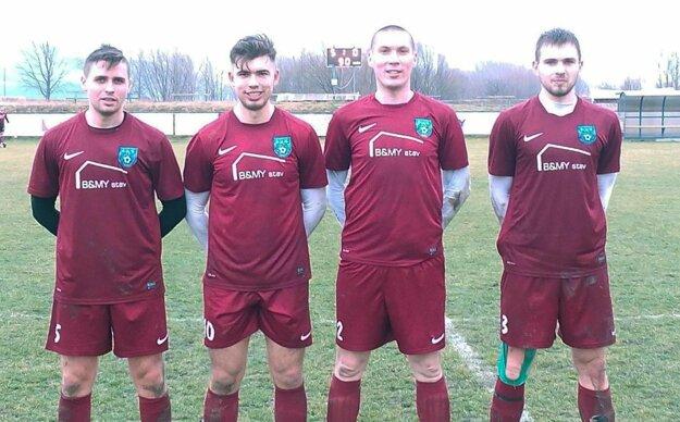 Päť gólov Zbehov si rozdelili štyria strelci.