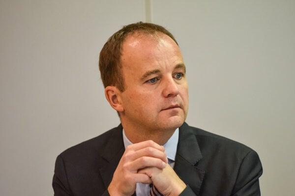 Výkonný riaditeľ Klubu 500 Tibor Gregor.