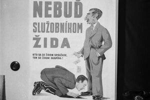 Obyvateľstvo slovenského štátu čelilo tvrdej protižidovskej propagande.