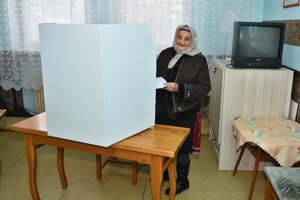 Prezidentské voľby v podtatranskom Lendaku.