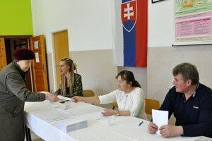 Prezidentské voľby v Habovke.