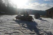 Horskí záchranári pomáhali v stredisku zimných športov na Veľkej Rači dvom chlapcom.