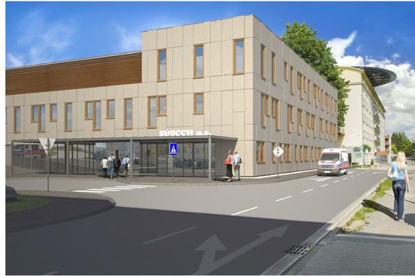 Nové centrum vyrastie v bezprostrednej blízkosti hlavnej budovy ústavu.