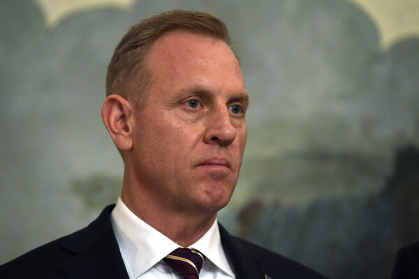 Americký minister obrany Patrick Shanahan.