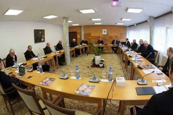 Konferencia biskupov Slovenska zasadala v Prešove.