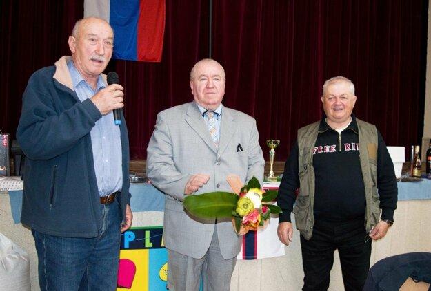 Zľava Peter Strieška, Anton Konečný a Vojtech Gatyáš.