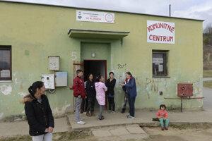 Komunitné centrum Rómskeho inštitútu v Prešove.