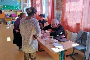 Mária Žigová z Jarečka voliť prišla, volila aj v prvom kole.