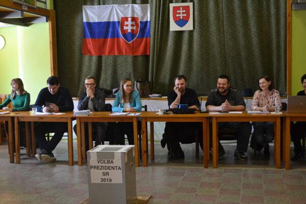 Voľby v Medzanoch.