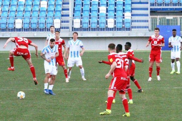 Zápas FC Nitra - AS Trenčín.