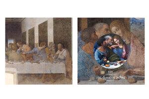 Z výstavy Leonardova Posledná večera v Oravskej galérii.
