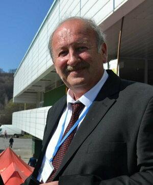 Organizátor Róbert Šalata.