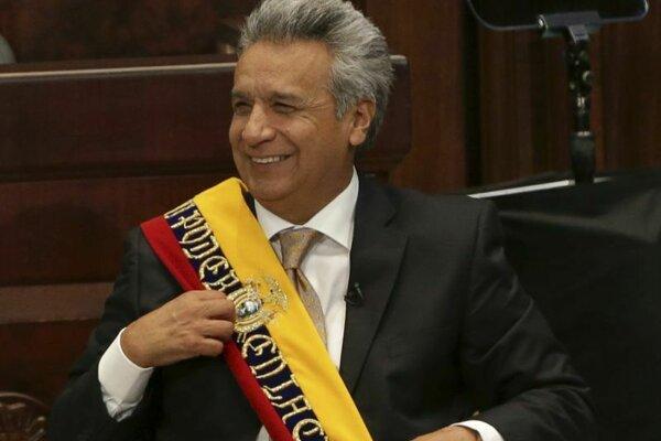 Ekvádorský prezident Lenín Moreno.