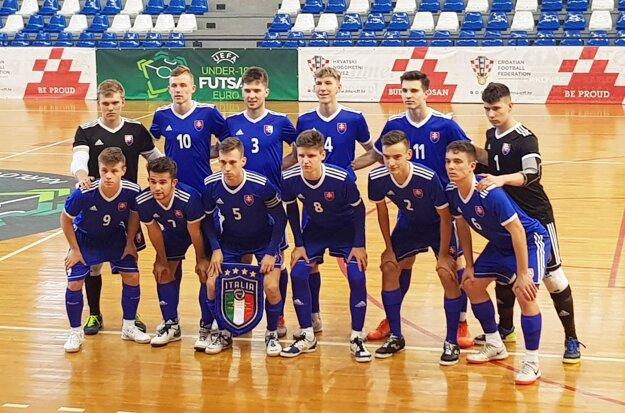 Futsalová reprezentácia Slovenska do 19 rokov.