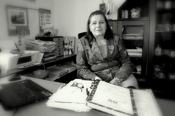 Starostka obce Fekišovce Miloslava Fedorová. (ZDROJ: JANA OTRIOVÁ)