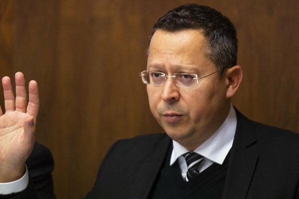 Nový minister financií Ladislav Kamenický.