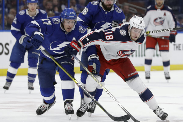 Tampa Bay Lighting - Columbus Blue Jackets.