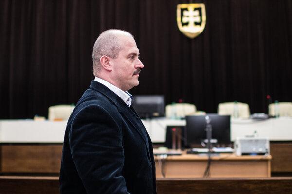 Marian Kotleba pred súdom.
