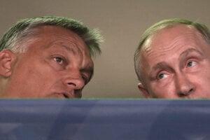 Viktor Orbán a Vladimír Putin.