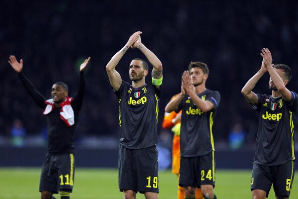 Futbalisti Juventusu Turín - ilustračná fotografia.