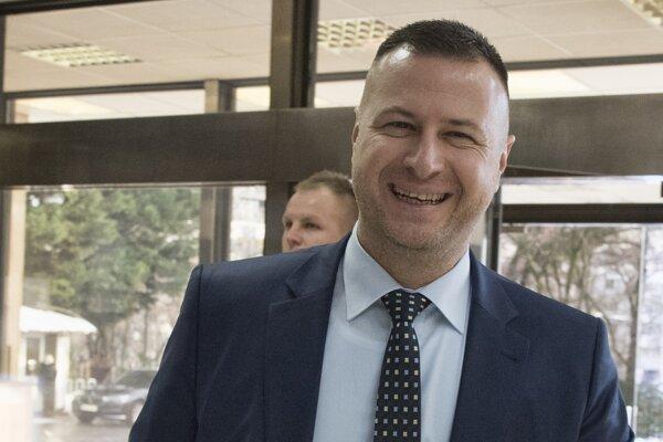 Minister spravodlivosti Gábor Gál (Most-Híd).
