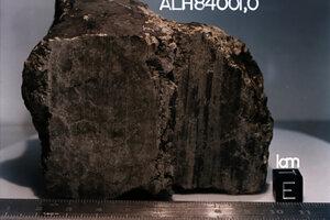Dosiaľ najbližšie k oznámeniu objavu mimozemského života nás zrejme v roku 1996 priviedli výsledky analýzy uhlíkového meteoritu ALH 84001, ktorý sa našiel v Antarktíde. Pôvodne ho vymrštilo z Marsu.
