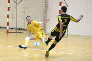 Futsalisti Makroteamu nepreniesli dobrý výkon z prvého polčasu do druhého dejstva. (Ilustračné foto)