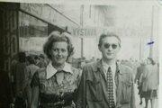 Egon Bondy a Honza Krejcarová