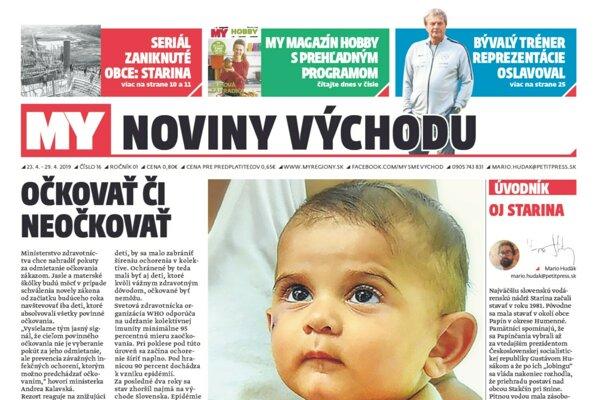 Najkritickejšia situácia s epidémiou osýpok a očkovaním je dnes na Dolnom Zemplíne.