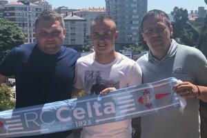 Branislav Jašurek (vpravo) zastupuje na futbalovom trhu viacero renomovaných hráčov. Vrátane Stanislava Lobotku.