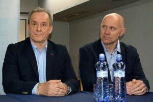 S Jergušom Bačom (vpravo) tvoria nerozlučnú dvojičku.