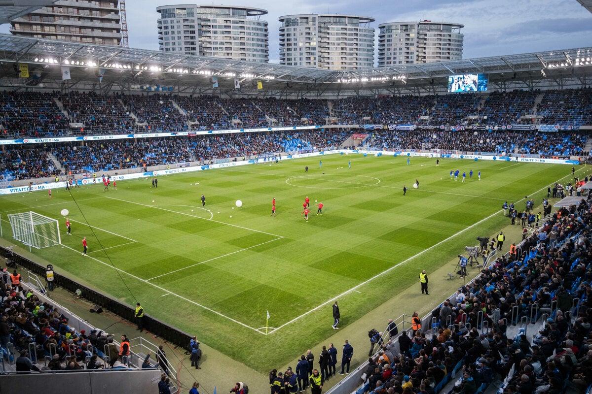 Cena Národného futbalového štadióna stúpla o takmer 4,5 milióna eur