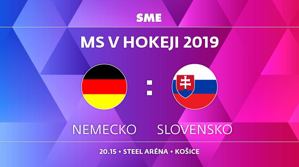 0269f69c452bb Zápas Slovensko - Nemecko na MS hokej 2019 sledujte ako online prenos live  na SME.sk.Zápas Slovensko - Nemecko na MS hokej 2019 sledujte ako online  prenos ...