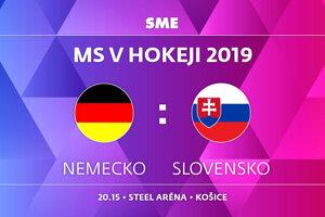Nemecko - Slovensko, zápas MS v hokeji 2019, skupina A. Sledujte online prenos na SME.sk.