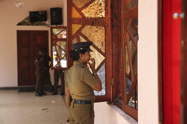 Po varovaní pred ďalšími útokmi platia v uliciach Kolomba prísne bezpečnostné opatrenia.